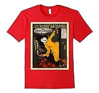 La Victoria Arduino Caffe Cafe Espresso Poster Shirts Red