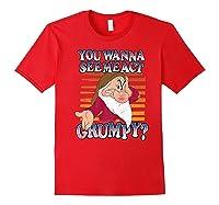 Grumpy You Wanna See Me Act Grumpy Shirts Red