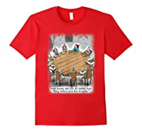 King Arthur & His Knights Of The Round Table, T-shirt Red
