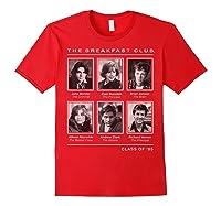 Breakfast Club Year Book Club Photos Graphic Shirts Red