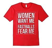 Baseball Player Power Home Run Fastball Hitter Love It Shirts Red