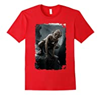 The Lord Of The Rings Gollum T-shirt Red