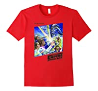 Star Wars The Empire Strikes Back The War Isn\\\'t Over Poster T-shirt Red