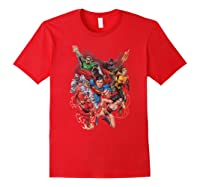 Justice League Refuse To Give Up Shirts Red