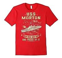 Uss Morton (dd-948) T-shirt Red