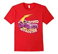 Mickey And The Roadsters Race Minnie Car Shirts Red
