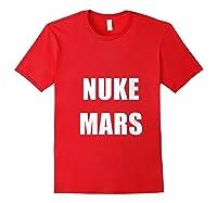Nuke Mars T-shirt Red