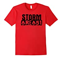 Storm Area 51 - Alien Awareness Truth Event Premium T-shirt Red
