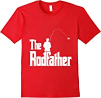 The Rodfather Is On The River This Christmas T-shirt Red