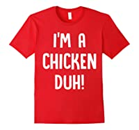 Chicken Halloween Shirt Costume Out Funny Gift Boy Girl Red