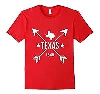 Texas 1845 Shirts Red