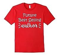 Author Essayist Journalist Scriptwriter T Shirt Red