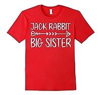 Cute Fack Rabbit Big Sister Shirt T Shirt Red