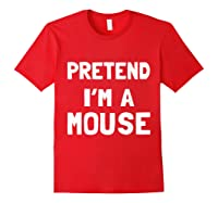 Mouse Halloween Costume Funny Gift Shirts Red