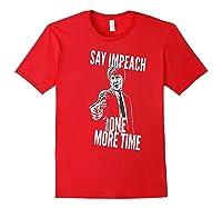Impeach T Shirt Red