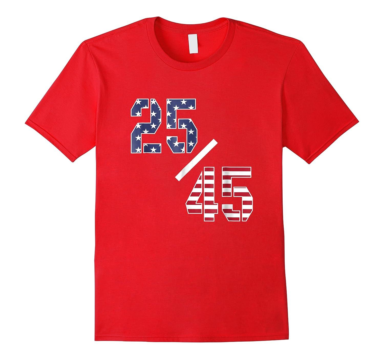 25 45 25th Adt Impeach Tshirt