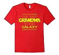 Best Grandma In The Galaxy Mother S Day T Shirt Star Grandma Red