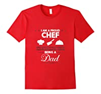 Chef Cooking Funny Culinary Chefs Dad Father S Day Gifts Tank Top Shirts Red