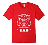 Chef Cooking Funny Culinary Chefs Dad Fathers Day Gifts Tank Top Shirts Red