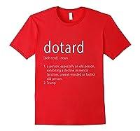 Funny Anti Trump T Shirt Hate Resist Donald Democrat Impeach Red