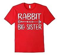 Cute Rabbit Big Sister Shirt I M Going To Be A Big Sister T Shirt Red
