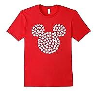 Disney Mickey Mouse Shamrocks St Patrick S Day T Shirt Red