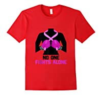 Husband Of A Warrior Breast Cancer Awareness Month Gift Tank Top Shirts Red
