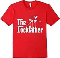 Locksmith - Lockfather T-shirt Red