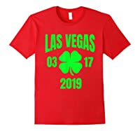 St Patricks Day Las Vegas T Shirt 2019 Saint Pattys Shirt Red