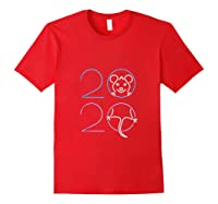2020 Year Of The Rat Chinese Zodiac Lunar Happy New Year Shirts Red