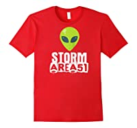 Storm Area 51 - Alien Awareness Truth Event - Together We Raglan Baseball Ts Shirts Red