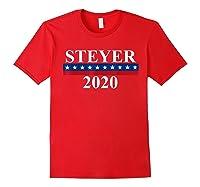 Tom Steyer 2020 President Election Vote Impeach Trump T Shirt Red