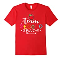 Team 2nd Second Grade Back To School Tea Gift Shirts Red