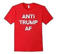 Anti Trump Af Funny Impeach Him 2020 T Shirt Red