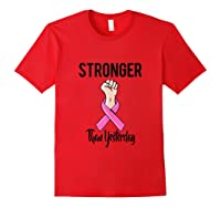 October Breast Cancer Awareness Month Inspirational Out Tank Top Shirts Red
