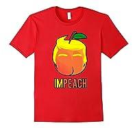 Anti Trump 2020 Vote Dems For Senate Impeach President Premium T Shirt Red