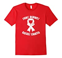 Breast Cancer Awareness Month T-shirt Red