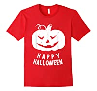 Funny Happy Halloween Costumes Scary Spooky Pumpkin Costume Shirts Red