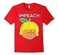Anti Trump Impeach Dump Trump T Shirt Funny Gifts T Shirt Red