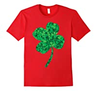 Shamrock Saint Patrick's Day Shirts Red