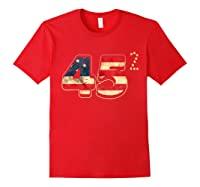 Donald Trump America Re Election T Shirt Gift Red