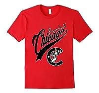 Chicago Baseball Shirts Red