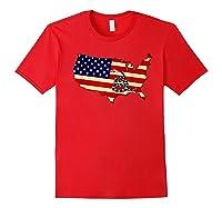 Gadsden Flag Snake Shirt -on Don't On Me Tread T-shirt T-shirt Red