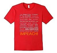 29 More Reasons To Impeach Potus Trump Political Activist Premium T Shirt Red