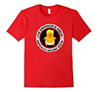 Deranged Donald The Emperor Is Obese Impeach Trump Now Premium T Shirt Red