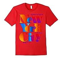 New York City T Shirt Urban Nyc Fashion Style T Shirt Nyc T Shirt Red