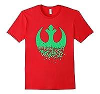 Star Wars Saint Patrick S Day Rebel Alliance Premium Ts Shirts Red