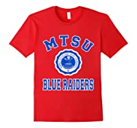 Middle Tennessee State 1911 University Apparel T Shirt Red