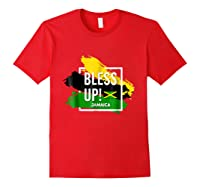 Bless Up N Pride Yaadie T Shirt Walk Good Everyday Red