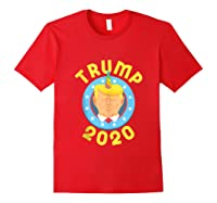 Funny Unicrontrump 2020 Election Usa Flag Republican Gift Tank Top Shirts Red